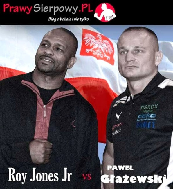 Paweł Głażewski vs Roy Jones Junior