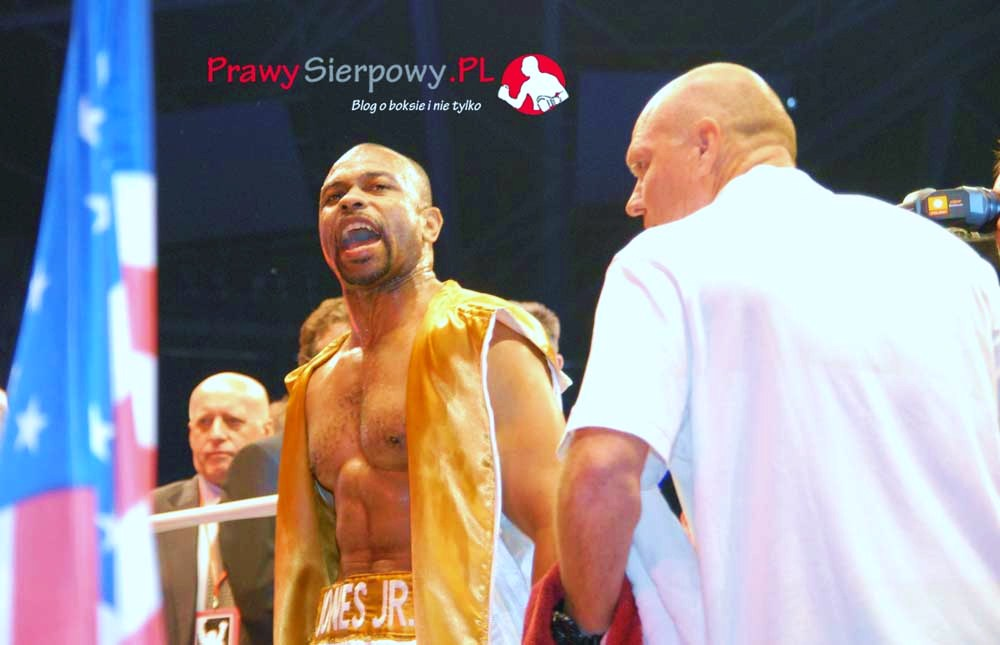 Galeria – Gala w Łodzi – Roy Jones Junior vs Paweł Głażewski