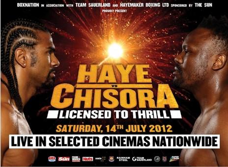 Czy Chisora zaszczuje Hayemakera?
